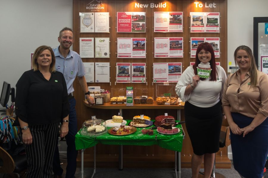 Macmillan Coffee morning a huge success at David Robinson Estates